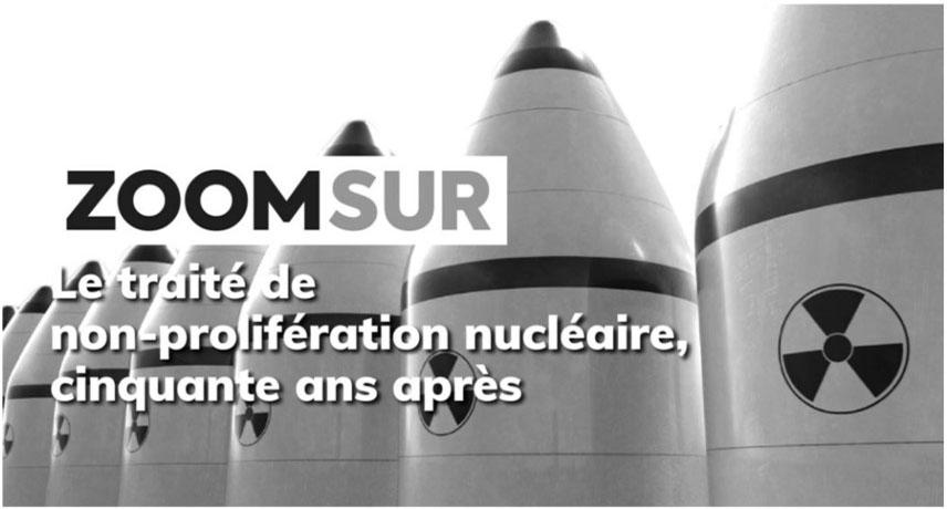 Prévenir la prolifération nucléaire ? Avec le TNP comme prétexte, ça marche !