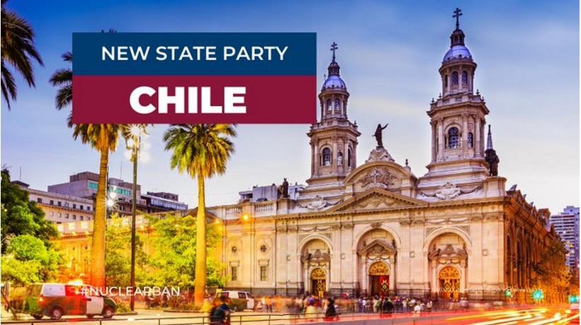Le Chili ratifie le Traité sur l'interdiction des armes nucléaires de l'ONU (TIAN)