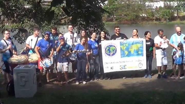 Actividades de la Marcha Latinoamericana en Brasil
