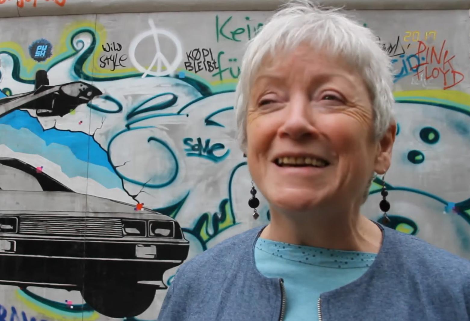 Abschied von der Mutter der East-Side-Gallery: Christine MacLean