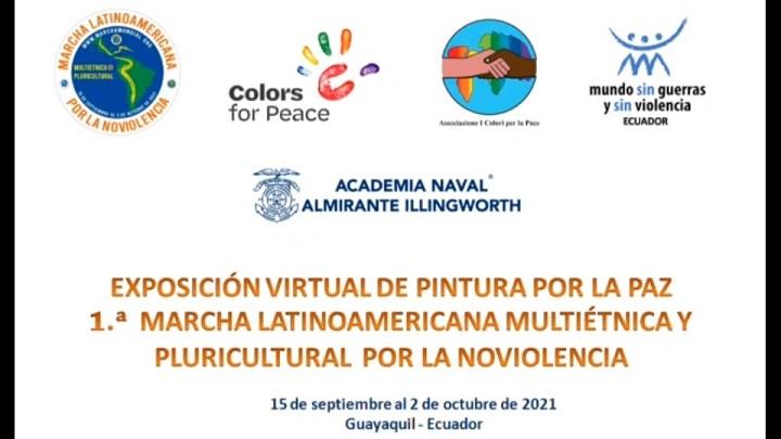 Colores de paz con la Marcha en Ecuador