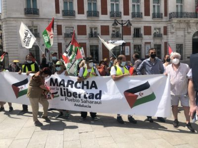 Abdulah Arabi explique la signification de la 'Marche pour la liberté du peuple sahraoui'