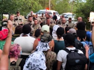 h4-an-overt-political-blockade-minnesota-police-barricade-line-3-pipeline-protest-camp