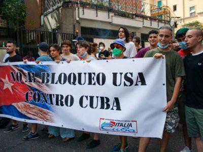 No a blocco contro Cuba