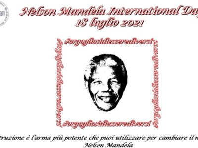 Locandina Nelson Mandela International Day