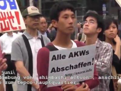 "ethecon Stiftung protestiert gegen Olympia - ""Atomares Imperium vor dem Fall"""