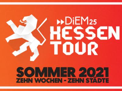 DiEM25 startet Veranstaltungsreihe in Hessen