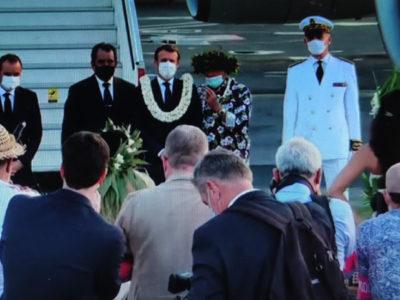 Macron in Polinesia