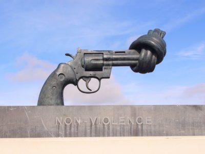 Non-Violence Statue