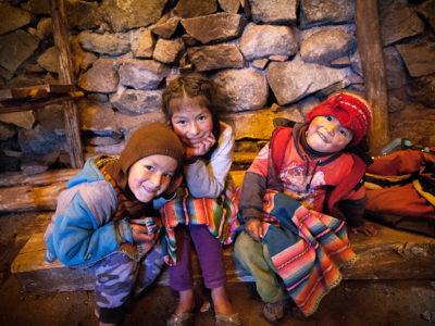 niños quechua, Perú - Paulo Philippidis