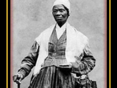 Sojourner-Truth who was born Isabella (Belle) Baumfree; c. 1797 – November 26, 1883) She was an African-American abolitionist and women's rights activist. Wikimedia Commons