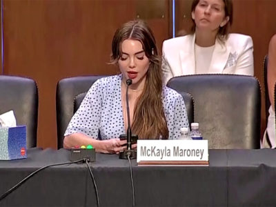 McKayla Maroney - Captura de video Reuters