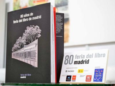 Libro 80 años de Feria del Libro de Madrid 2021
