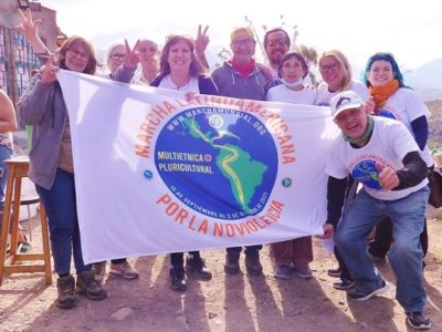 Primera semana de la Marcha Latinoamericana en Argentina
