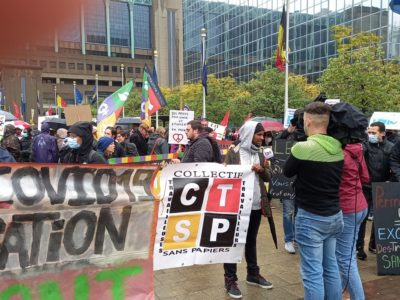 Manifestation 2 oct Bruxelles