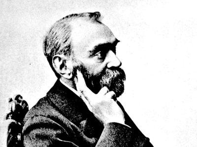 Portrait of Alfred Nobel by Gösta Florman, undated.