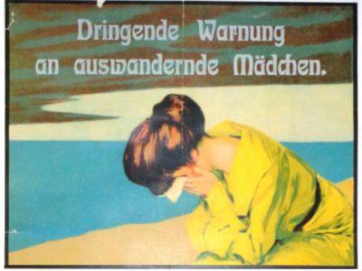 Otto Goetze - manifesto sulla tratta - public domain