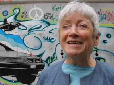 Abschied von der Mutter der East Side Gallery: Christine MacLean