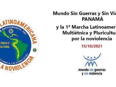 MSGySV Panamá y la Marcha Latinoamericana